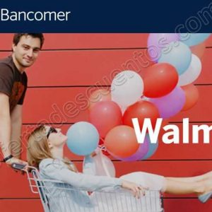 Walmart: Promoción de Aniversario 12 meses sin intereses más 1 mes de bonificación con Bancomer