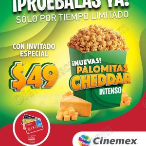 Cinemex: Promociones Invitado Especial al 30 de Septiembre 2018