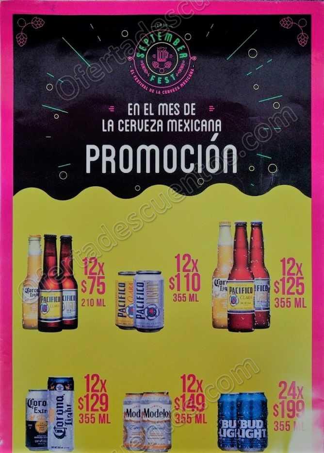 Modelorama: Promociones en Cervezas por el mes Patrio
