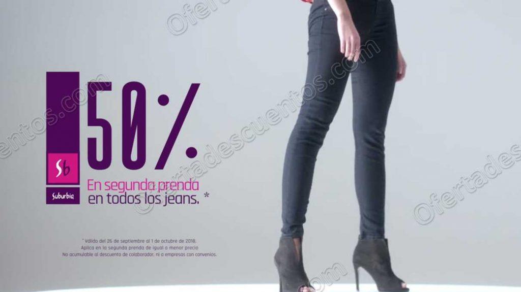 Suburbia: Jeansmanía 50% de descuento en segunda compra en Jeans