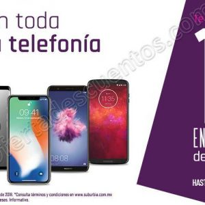 Suburbia: 15% de bonificación en toda la telefonía del 28 de septiembre al 1 de octubre 2018