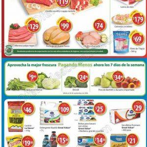 Walmart: Promociones fin de semana de asador, carnes, frutas y verduras al 23 de Septiembre 2018