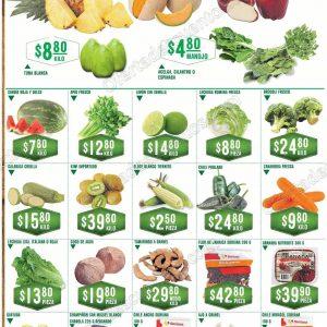 Frutas y Verduras Soriana 18 y 19 de Septiembre 2018