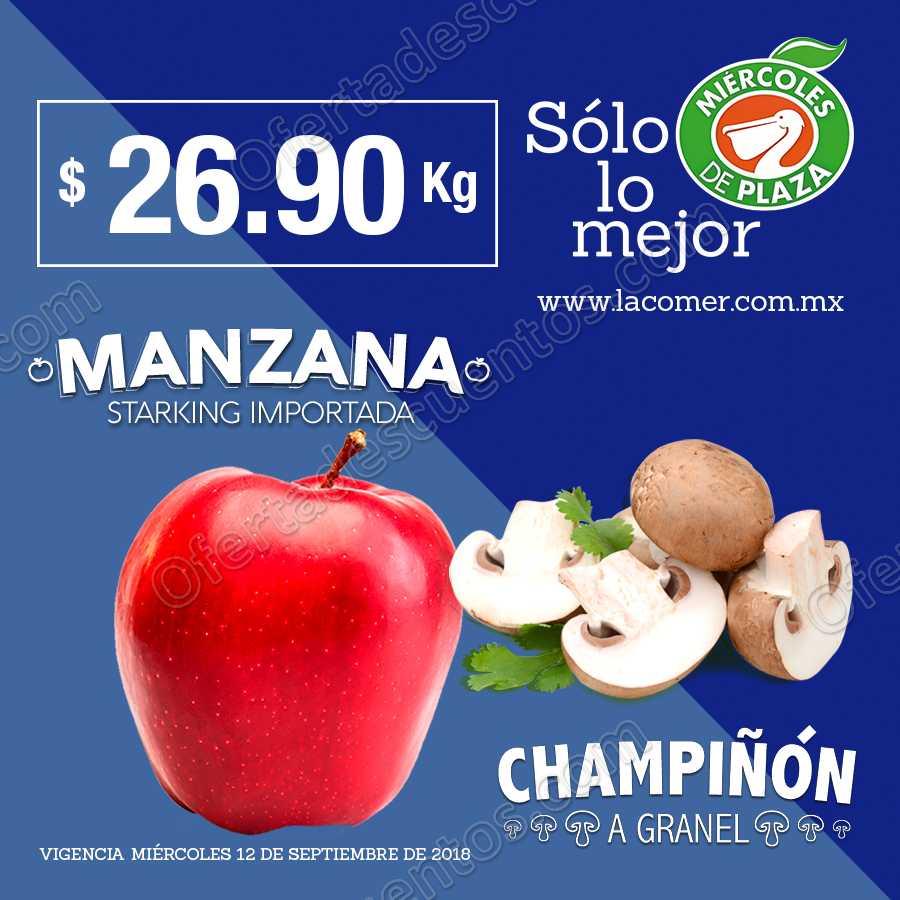 Frutas y Verduras Miércoles de Plaza La Comer 12 de Septiembre 2018