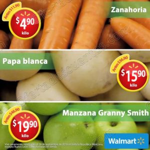 Martes de Frescura Walmart 18 de Septiembre 2018