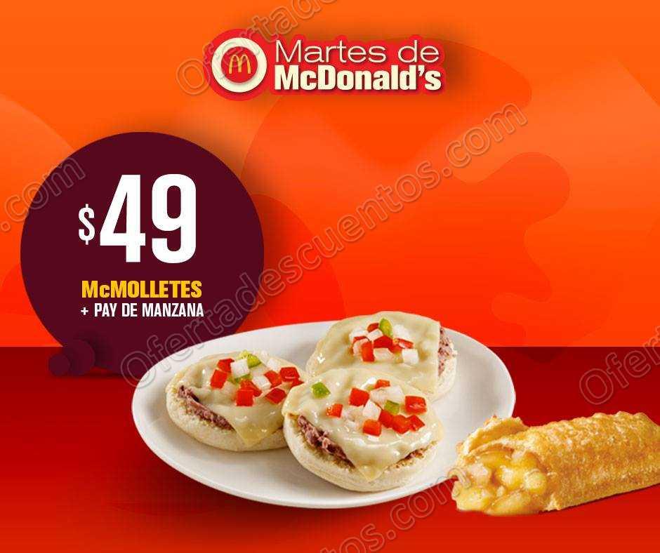 Martes de McDonald's 18 de Septiembre 2018