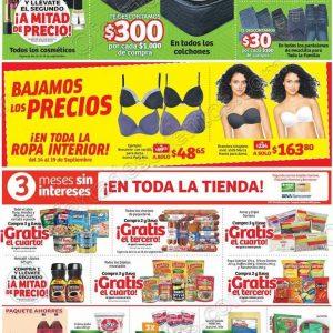 Soriana: Promociones de Fin de Semana del 14 al 17 de Septiembre 2018
