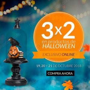 The Home Store: 3×2 en productos de Halloween del 19 al 21 de Octubre