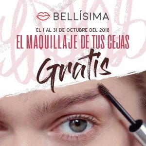Bellísima: Servicio de Maquillaje para cejas GRATIS todo Octubre