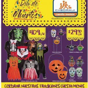 Chedraui: Folleto de Ofertas Día de Muertos y Halloween del 18 al 30 de Octubre