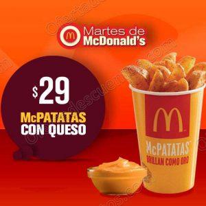 Cupones Martes de McDonald's 16 de Octubre 2018