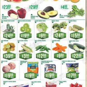 Frutas y Verduras Soriana 2 y 3 de octubre 2018