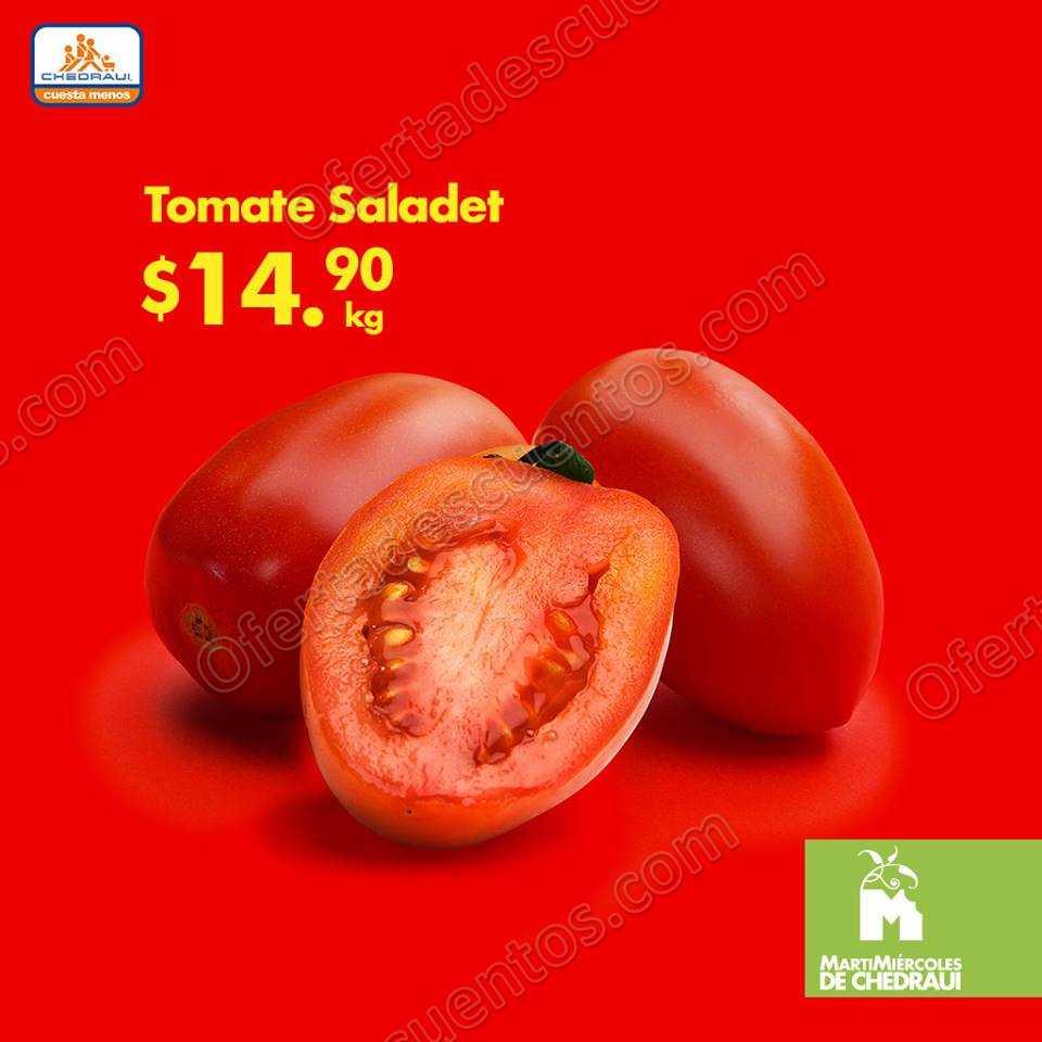 Frutas y Verduras Chedraui 16 y 17 de Octubre 2018