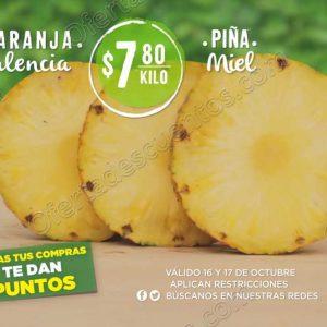 Frutas y Verduras Mega Soriana 16 y 17 de Octubre 2018
