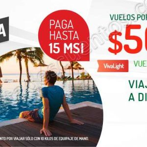 Gran Semana HSBC VivaAerobus: Vuelos desde $500 más hasta 15 meses sin intereses
