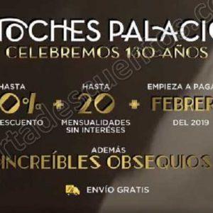 Preventa Noches Palacio de Hierro 3 de Octubre 2018