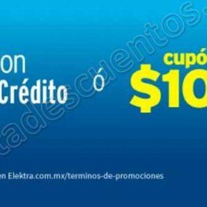 Elektra: Recibe Cupón de hasta $1,000 al pagar con Citibanamex