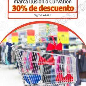 Soriana Mercado: 30% de descuento de ropa interior Ilusión y Curvation