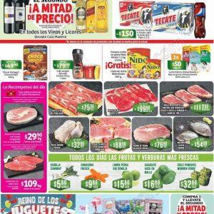 Soriana: Promociones de Fin de Semana del 12 al 15 de Octubre 2018