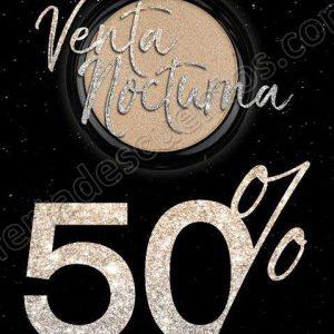 Venta Nocturna GOC Makeup: Hasta 50% reembolsable en producto