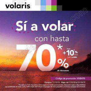 Outlet Quiero Viajar Volaris: Hasta 70% de descuento + 10% adicional con VClub