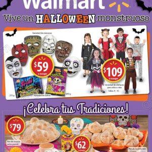 Walmart: Folleto de Ofertas Vive un Halloween monstruoso del 17 de Octubre al 4 de Noviembre