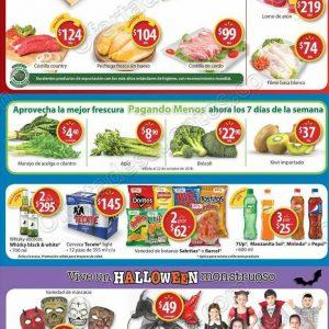 Walmart: Promociones fin de semana de asador, carnes, frutas y verduras al 21 de Octubre