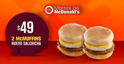 Martes de McDonald's 9 de Octubre 2018