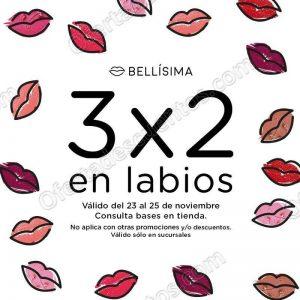Bellísima: 3×2 en maquillaje para labios