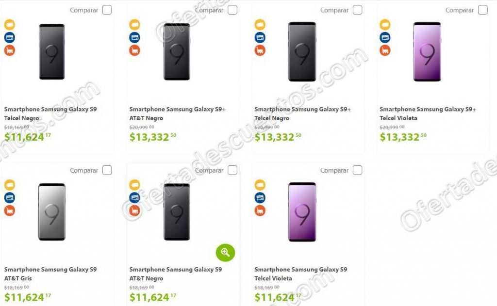 Buen Fin 2018 Sams Club: Celular Samsung Galaxy S9 $11,624 y Consola 2DS de REGALO