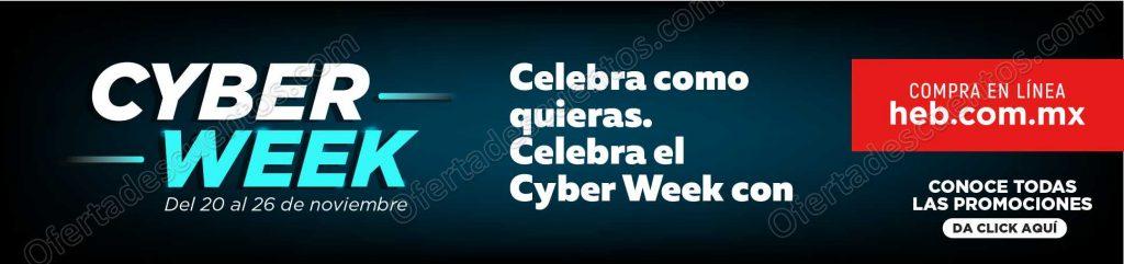 Cyber Week HEB del 20 al 26 de Noviembre 2018