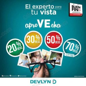 2d52e3d1d8 Promociones El Buen Fin 2018 Devlyn: Hasta 70% de descuento · Ofertas Devlyn