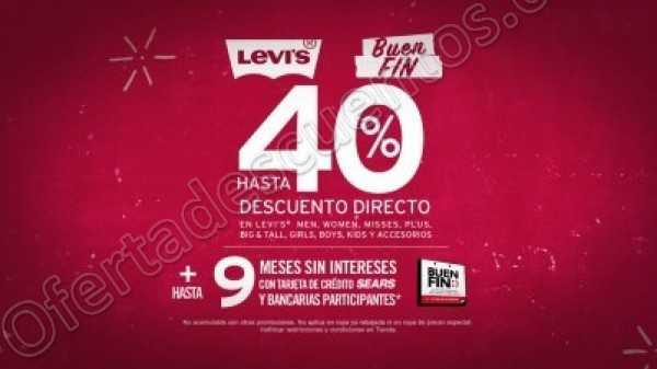 Promociones El Buen Fin 2018 Levi's