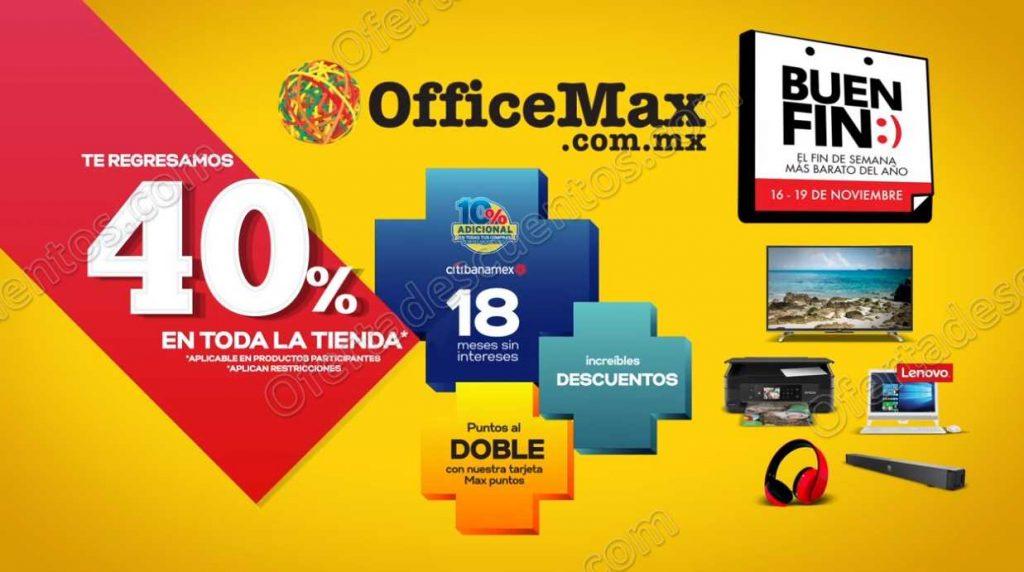 El Buen Fin 2018 Office Max