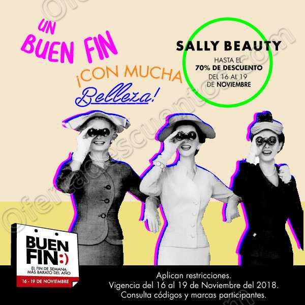 Ofertas El Buen Fin en 2018 Sally Beauty