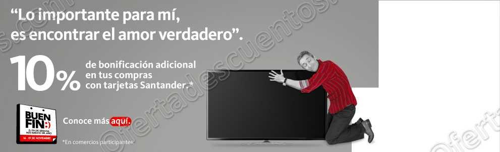 Promociones El Buen Fin 2018 Santander