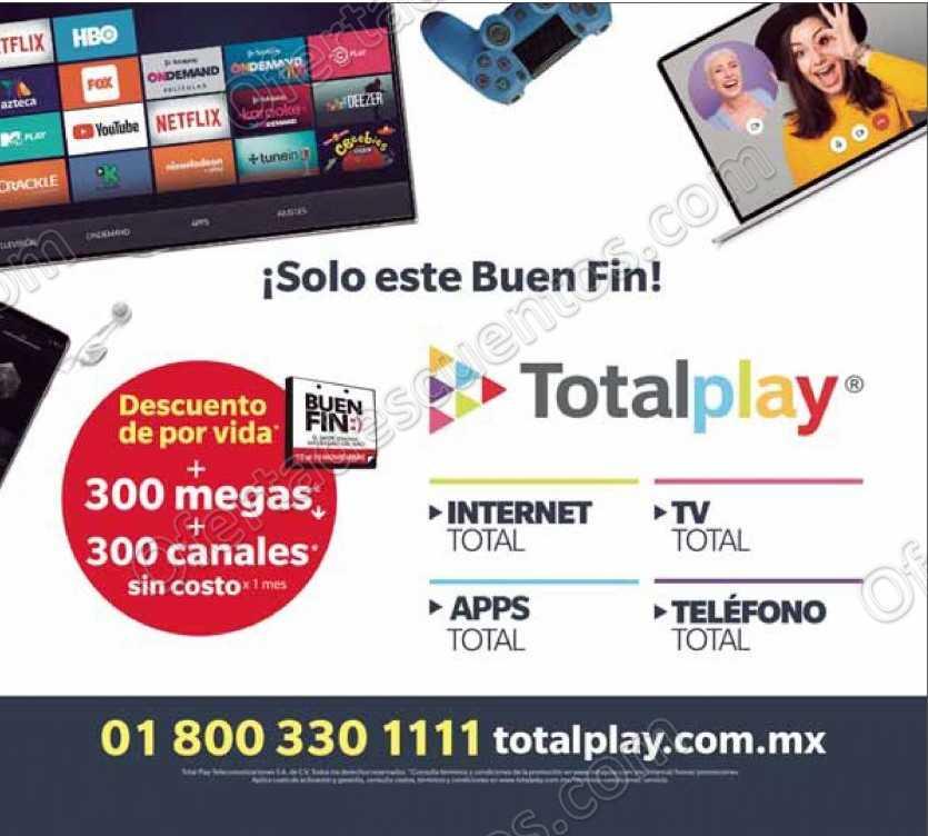 Promociones El Buen Fin 2018 TotalPlay