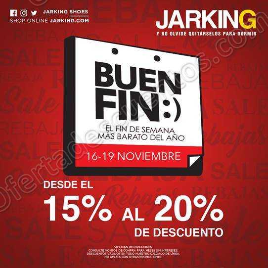 El Buen Fin 2018 Jarking: Hasta 20% de descuento
