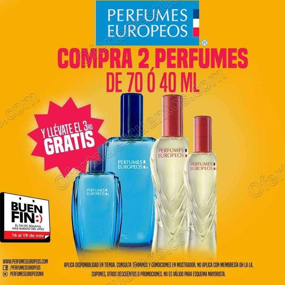 Promociones El Buen Fin 2018 Perfumes Europeos