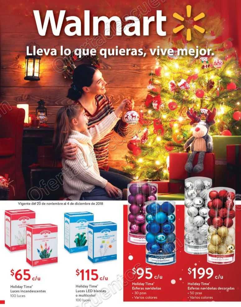 Folleto Ofertas Walmart Navidad del 20 de Noviembre al 4 de Diciembre 2018