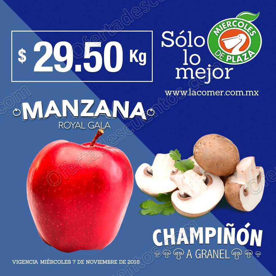 Frutas y Verduras Miércoles de Plaza La Comer 7 de Noviembre 2018