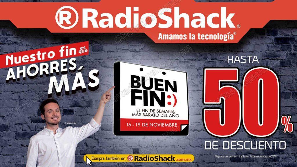 Ofertas El Buen Fin 2018 Radioshack: Hasta 50% de descuento