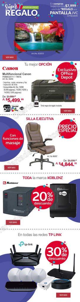 Office Depot: Pantalla JVC 32 pulgadas Gratis en la compra de $7,999 o más
