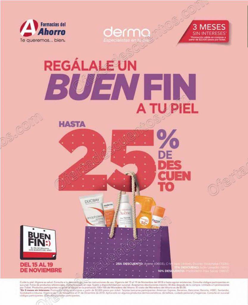 Promociones El Buen Fin 2018 Farmacias del Ahorro