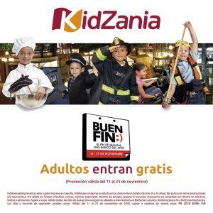 Promociones del Buen Fin 2018 en KidZania