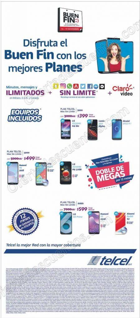 Promociones El Buen Fin 2018 Telcel