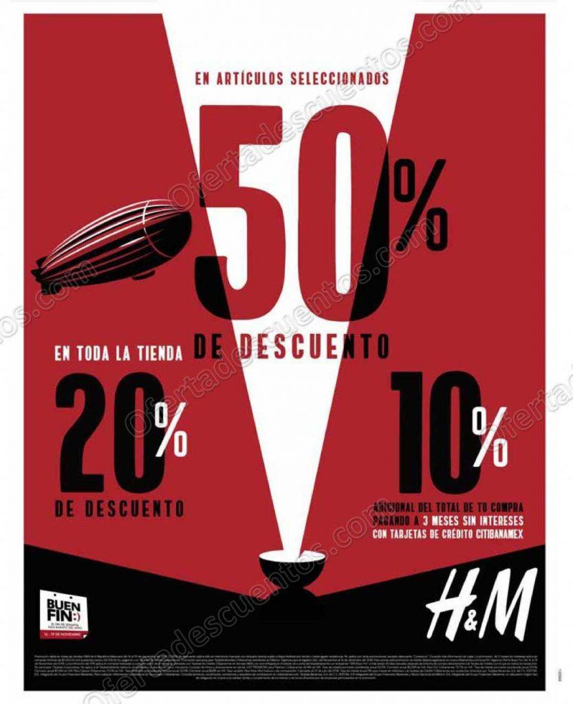 Promociones Buen Fin 2018 H&M