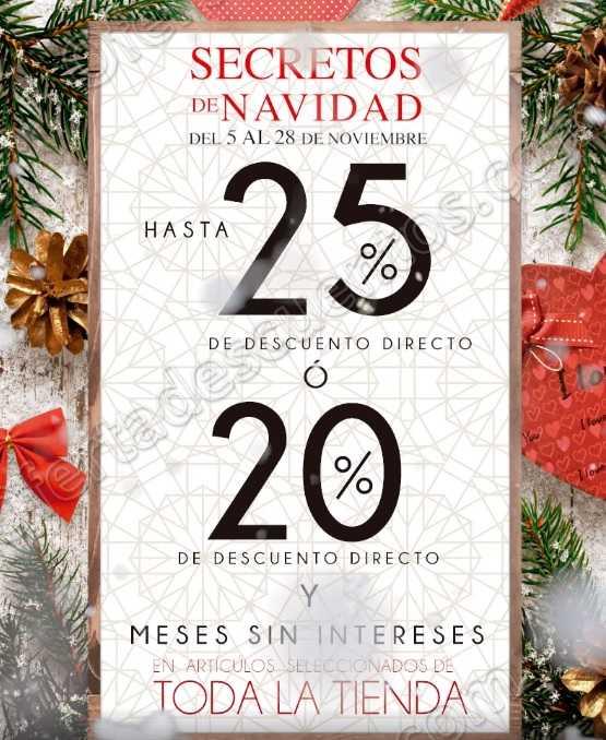 Secretos de Navidad Home Store 2018: Hasta 25% de descuento