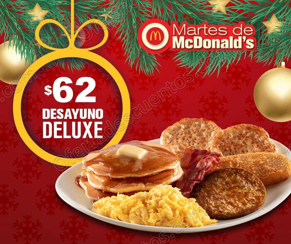 Cupones Martes de McDonalds 4 de Diciembre 2018