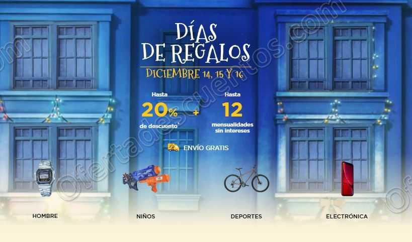 Días de Regalos Palacio de Hierro del 14 al 16 de Diciembre 2018